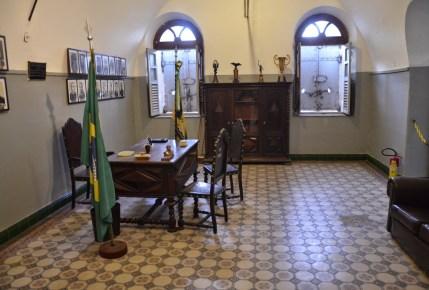 Office at Forte de Copacabana in Rio de Janeiro, Brazil