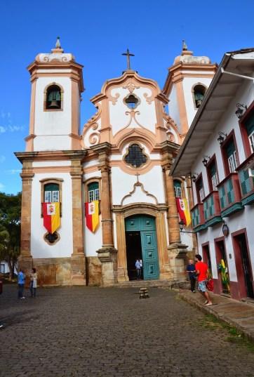Nossa Senhora do Pilar in Ouro Preto, Brazil