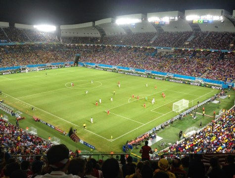 USA vs Ghana World Cup 2014 at Arena das Dunas in Natal, Brazil