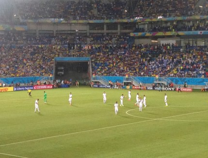 Greece vs Japan World Cup 2014 at Arena das Dunas in Natal, Brazil