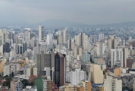 São Paulo from Edifício Itália, Brazil