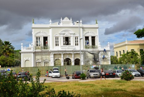 Theatro José de Alencar in Fortaleza, Brazil