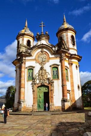 São Francisco de Assis in Ouro Preto, Brazil