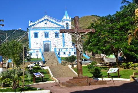Igreja Matriz de Nossa Senhora d'Ajuda in Vila Ilhabela, Brazil