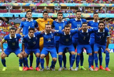 Greece 2014 World Cup team (not my image)