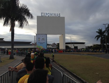 Expominas FIFA Fan Fest in Belo Horizonte, Brazil 2014 World Cup