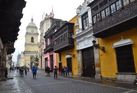 Palacio de Goyeneche in Lima, Peru
