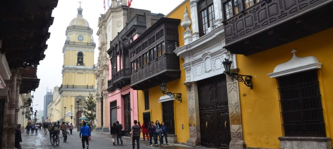 The Historic Center of Lima