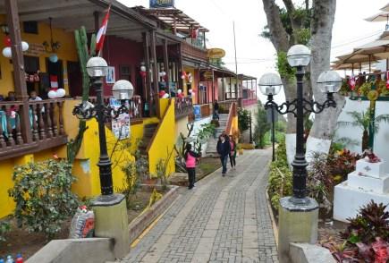 Bajada a los Baños in Barranco, Lima, Peru