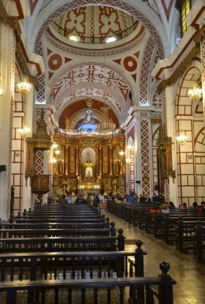 Iglesia de San Francisco in Lima, Peru