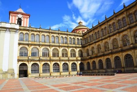 Colegio Mayor de San Bartolomé on Plaza de Bolívar, La Candelaria, Bogotá, Colombia