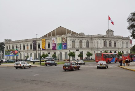 Museo de Arte de Lima at Plaza Grau in Lima, Peru