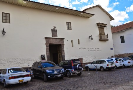 Museo de Arte Precolombino on Plazoleta Nazarenas in Cusco, Peru