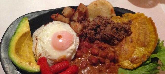 Food in Bogotá