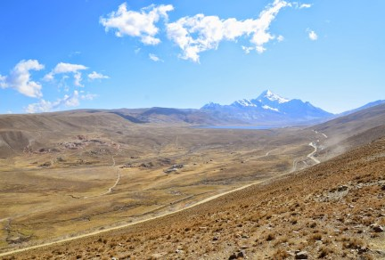 On the way to Chacaltaya, Bolivia