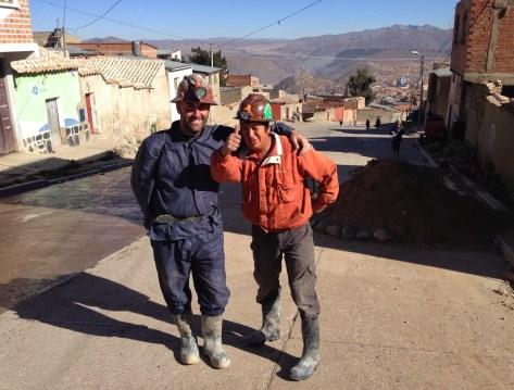 Me and Beto in Potosí, Bolivia