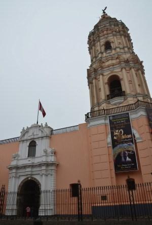 Iglesia de Santo Domingo in Lima, Peru