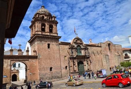 Iglesia de La Merced in Cusco, Peru