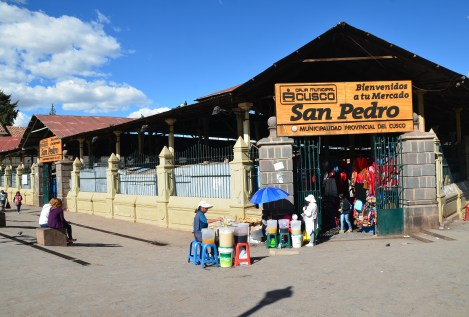 Mercado San Pedro in Cusco, Peru