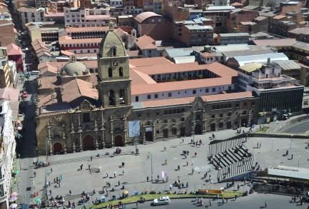 Iglesia de San Francisco in La Paz, Bolivia