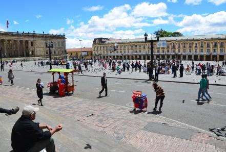 Plaza de Bolívar, La Candelaria, Bogotá, Colombia