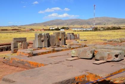 Pumapunku at Tiwanaku, Bolivia
