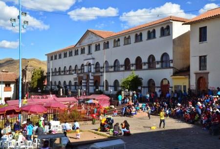 Colegio Nacional de Ciencias in Cusco, Peru