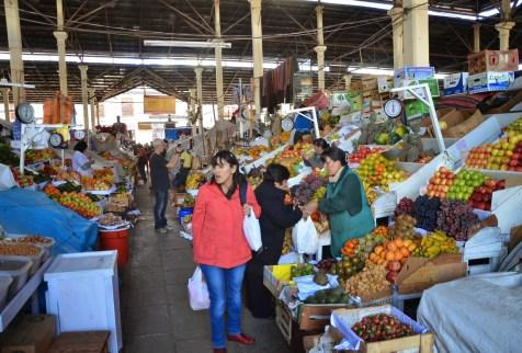 Mercado San Pedro in Cusco, Peru