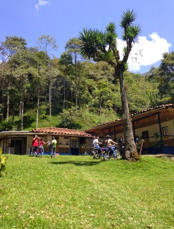 The park lodge at Parque Municipal Natural Santa Emilia, Belén de Umbría, Risaralda, Colombia
