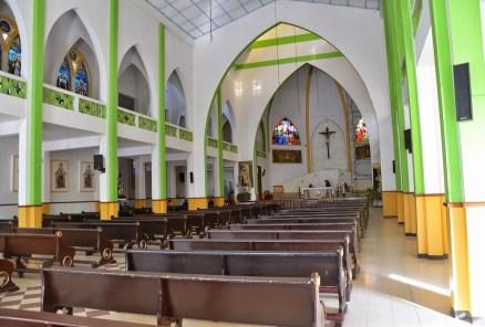 Iglesia Santa Rosa de Lima in Belén de Umbría, Risaralda, Colombia