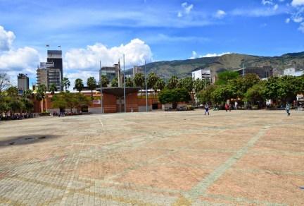 Parque San Antonio in Medellín, Antioquia, Colombia