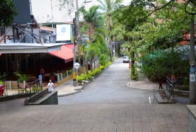 Parque Lleras in Medellín, Antioquia, Colombia