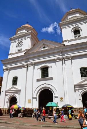 Basílica de la Candelaria in Medellín, Antioquia, Colombia