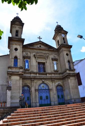 Iglesia de San Antonio in Medellín, Antioquia, Colombia
