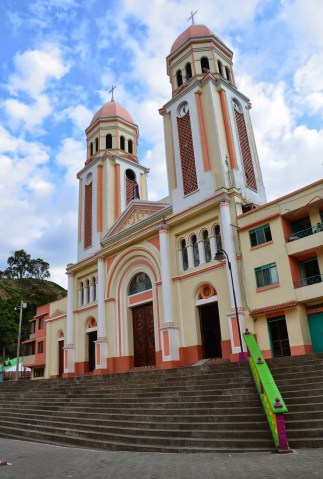Church in Mistrató, Risaralda, Colombia