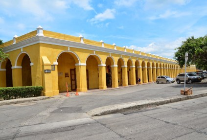 Las Bóvedas in Cartagena, Bolívar, Colombia