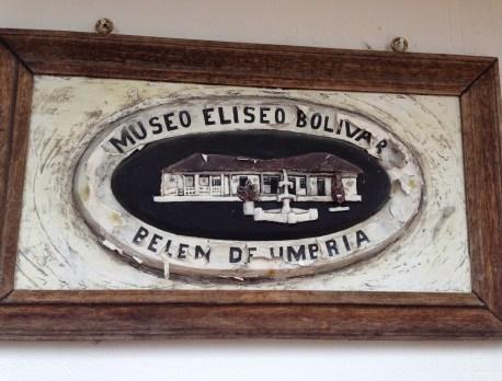 Museo Eliseo Bolívar in Belén de Umbría, Risaralda, Colombia
