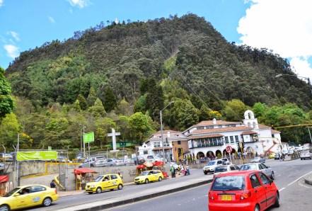 Cerro de Monserrate in Bogotá, Colombia