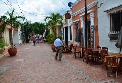 Calle 19 in Santa Marta, Magdalena, Colombia