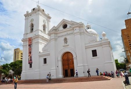 Catedral de Santa Marta in Santa Marta, Magdalena, Colombia