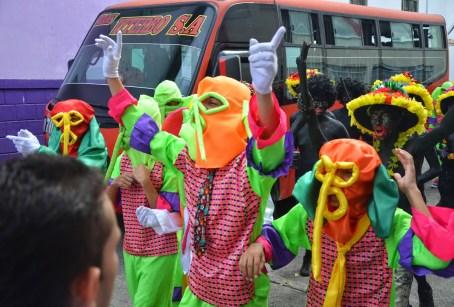 Carnaval de Barranquilla – Marimonda at the parade in Belén de Umbría, Risaralda, Colombia