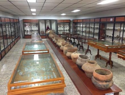 History gallery at Museo Eliseo Bolívar in Belén de Umbría, Risaralda, Colombia