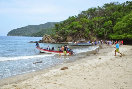 Neguanje at Tayrona National Park in Colombia