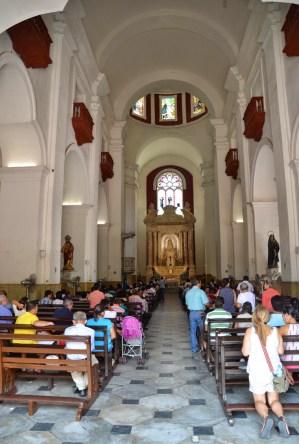 Iglesia de San Pedro Claver in El Centro, Cartagena, Bolívar, Colombia