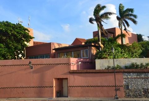 Home of Gabriel García Márquez in San Diego, Cartagena, Bolívar, Colombia