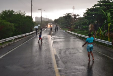 Riot at La Boquilla, Bolívar, Colombia