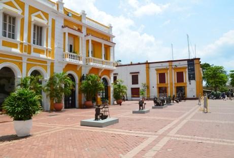 Plaza de San Pedro Claver in El Centro, Cartagena, Bolívar, Colombia