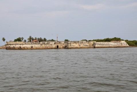 Fuerte de San Fernando on Isla de Tierra Bomba in Colombia