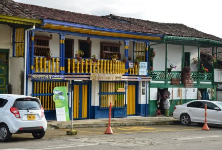 Plaza in Salento, Quindío, Colombia