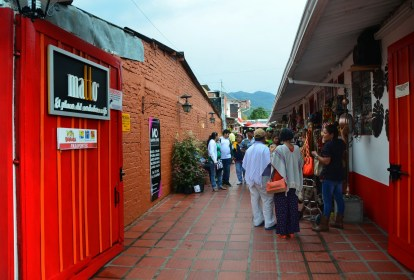 Craft market in Salento, Quindío, Colombia